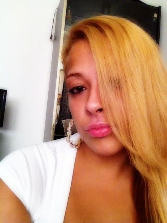 hair blonde and straight