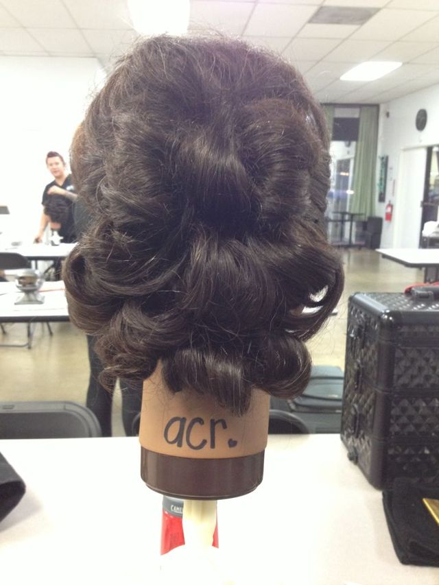 hair bow up do