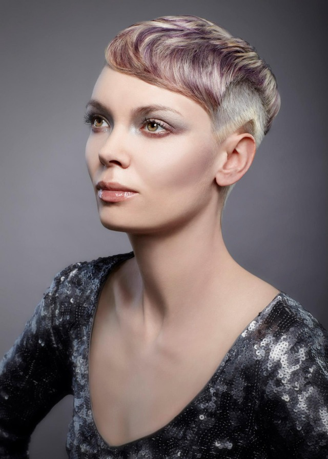 hair cut and color by me for the wella 2012 trend vision competition