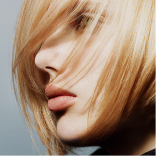 Fresh classic bob, sweet blond