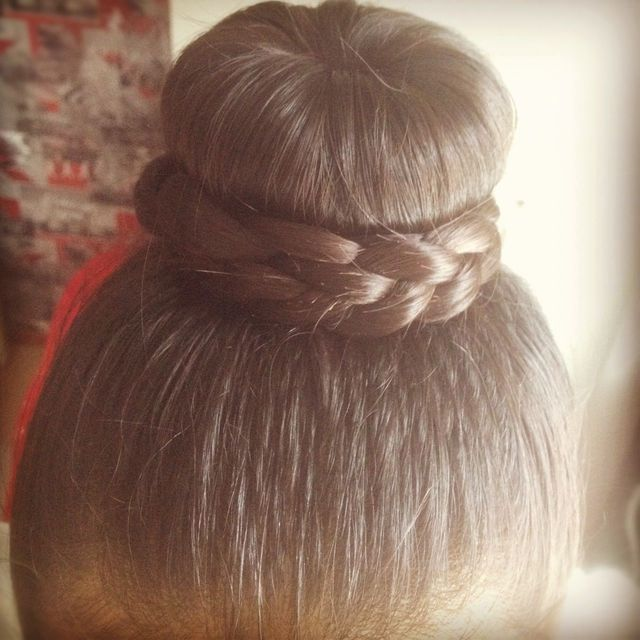 hairdonut braid