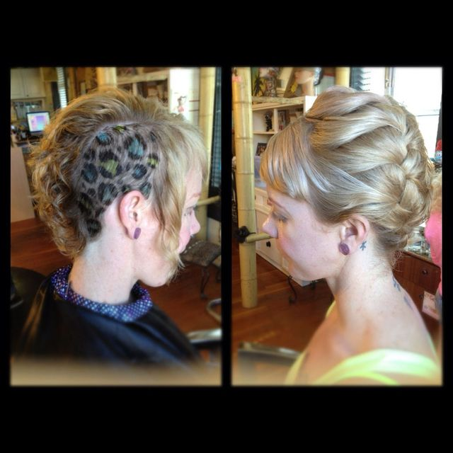 half & half by Ashley @ Rock A Betties