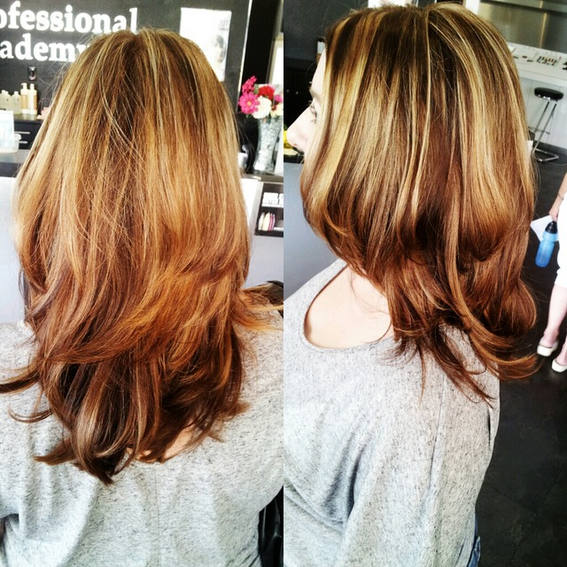 heather's color & highlights