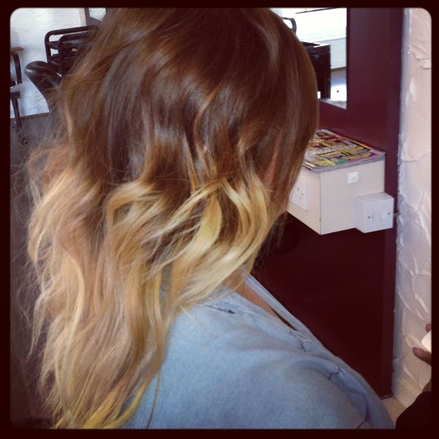 high ombre
