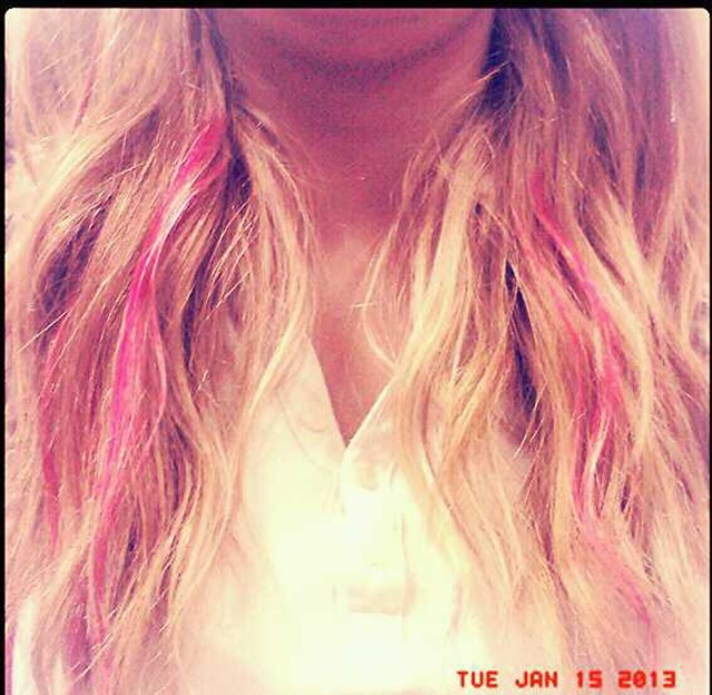 highlights pink