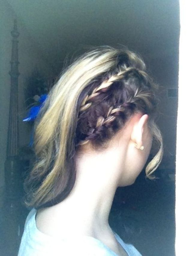 homecoming hair