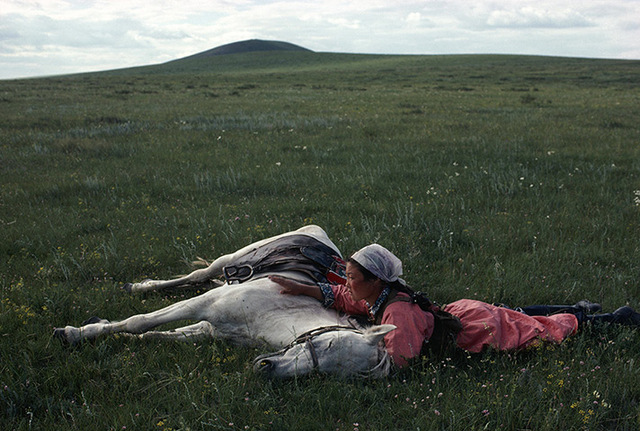 horsetrainingforthemilitiainnermongoliachina1979