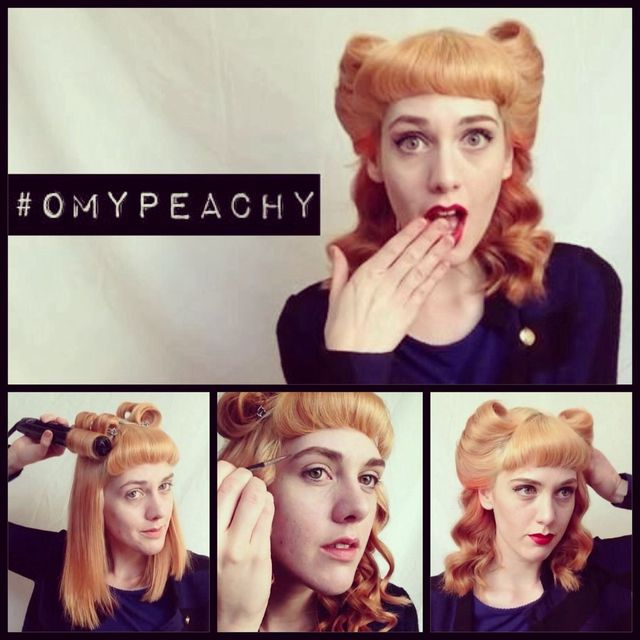 http://www.ourmyyour.com/how-to-vintage-hair--make-up-tutorial.html