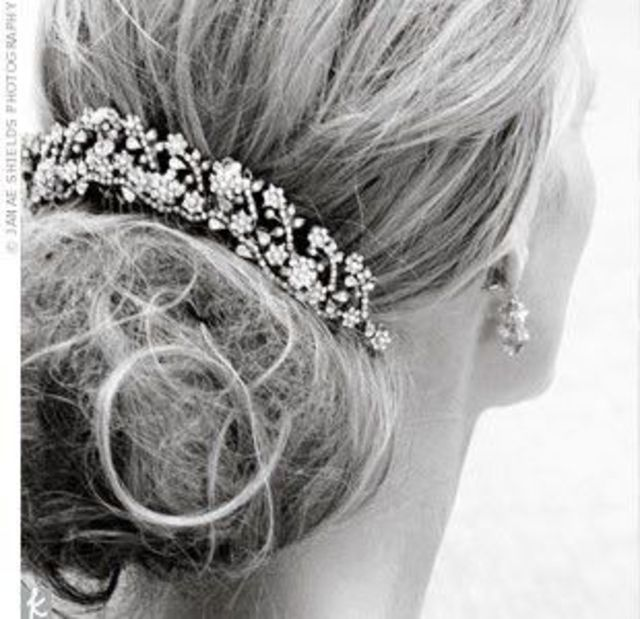 jeweled updo