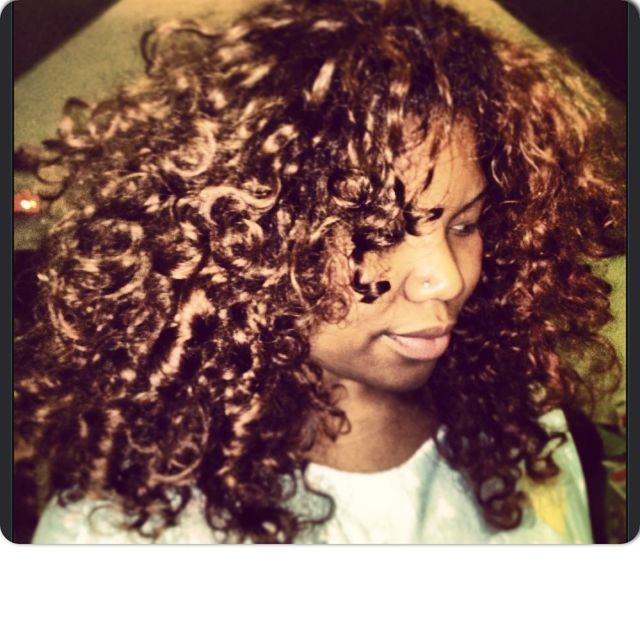 light brownie curls