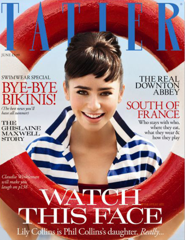 lily-collins-tatler-cover uk