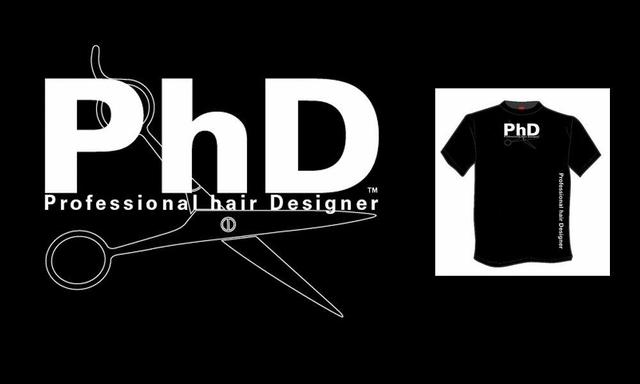 T-shirts for the PhD  (Professional hair Designer)