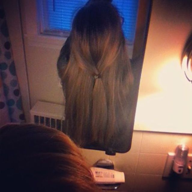 long hair clip