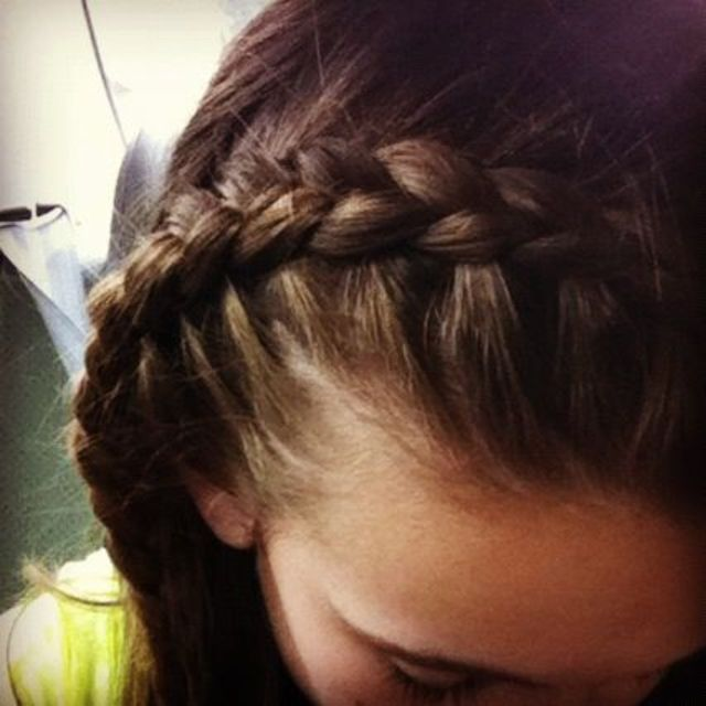 love Dutch braid headbands