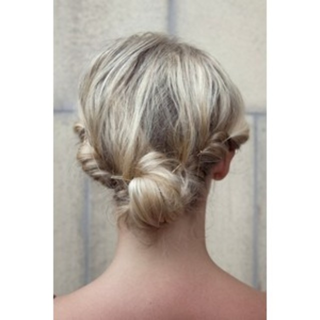 low-messy-twisted-bun-hairstyle