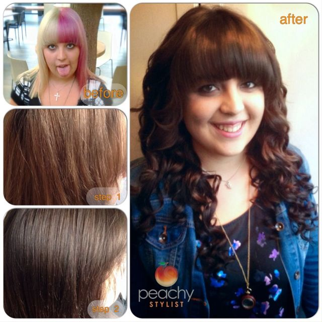 makeover by Peachy Stylist