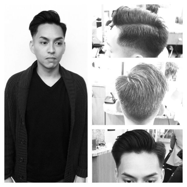 medium length clipper cut
