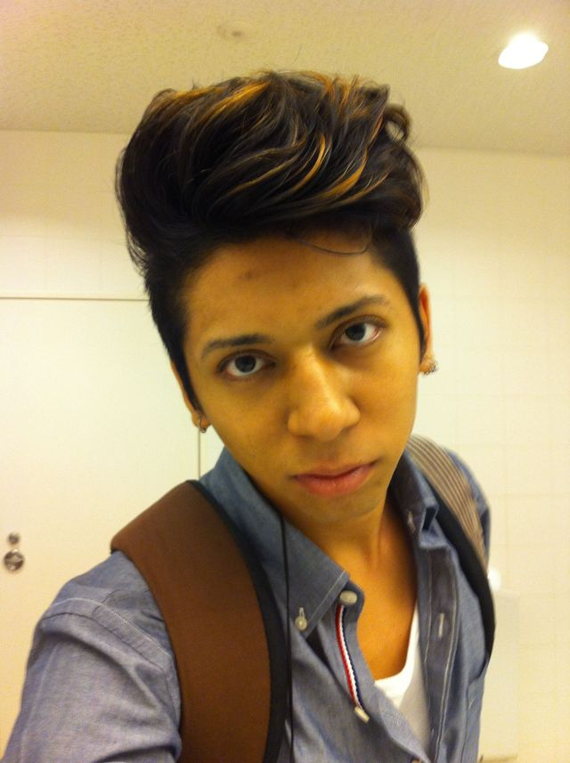 my hair :\bruno