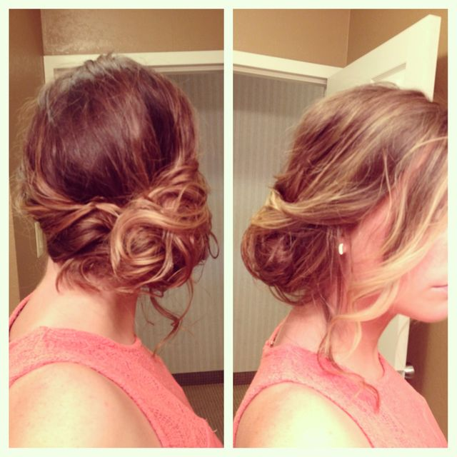 my hair for a wedding