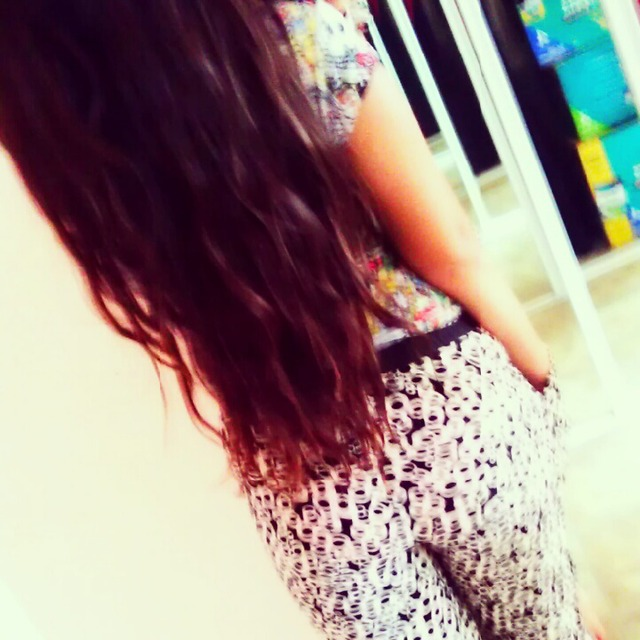 my long hair,natural,never die them .