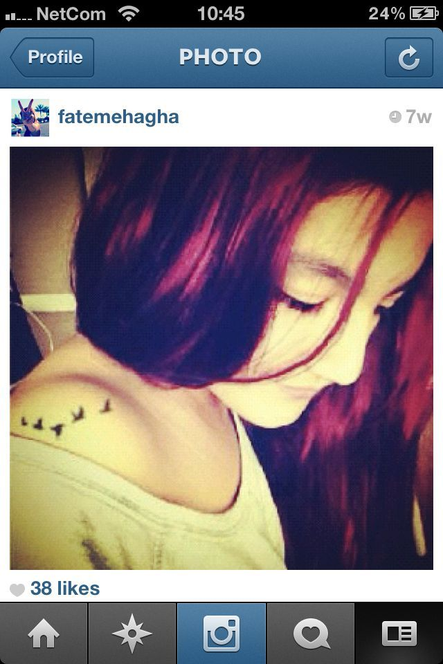 my red hair!