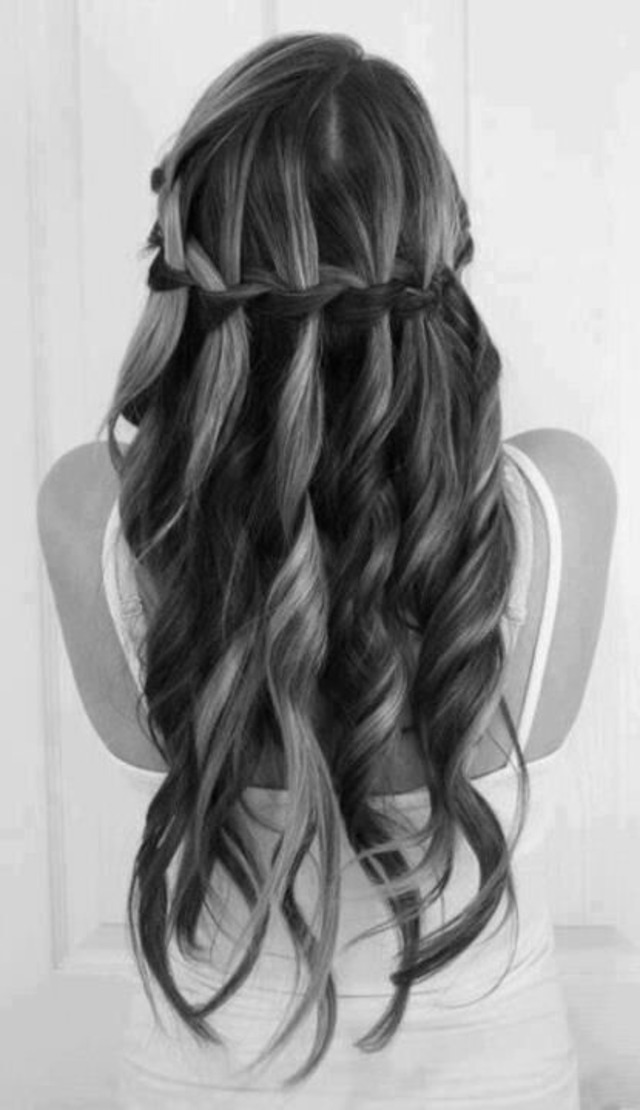 my waterfall  braid