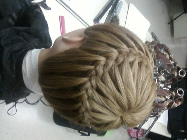 never ending french braid