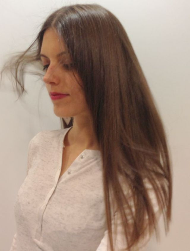 one Length long hair www.behnazazargamCom