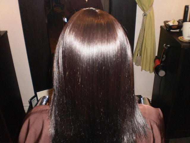 after color/color gloss/ blowout