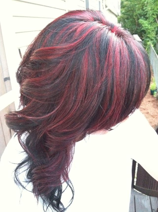 partial red highlights