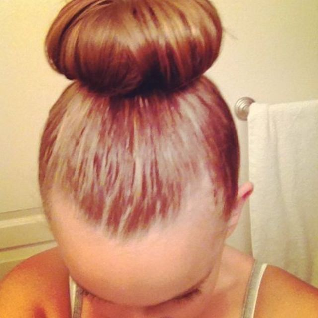 perfect height bun