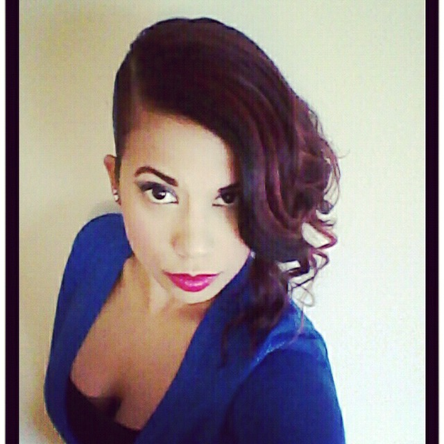 pin up side part