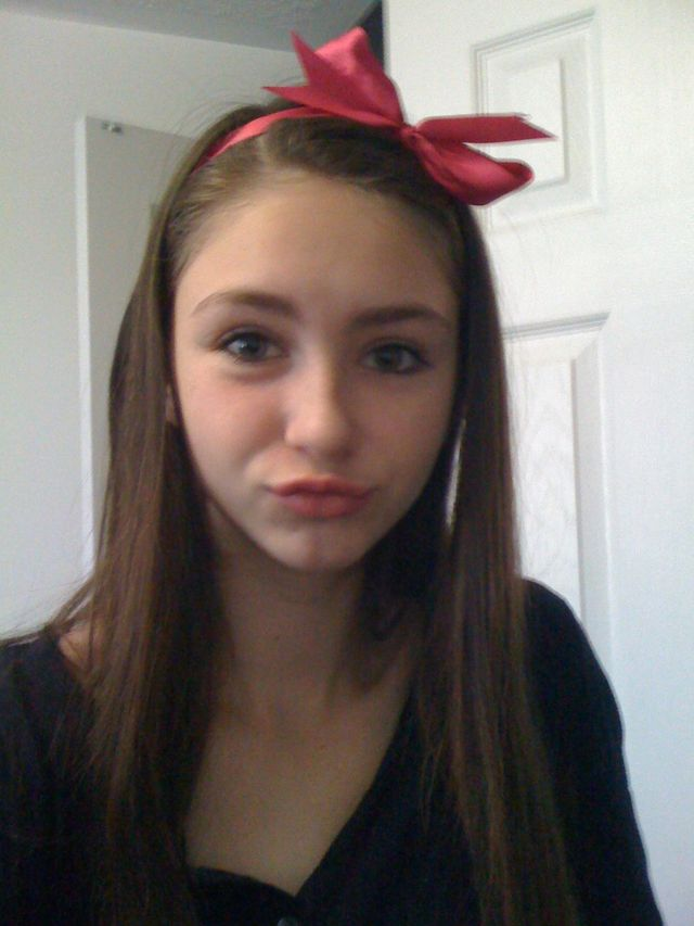 pink bow <3