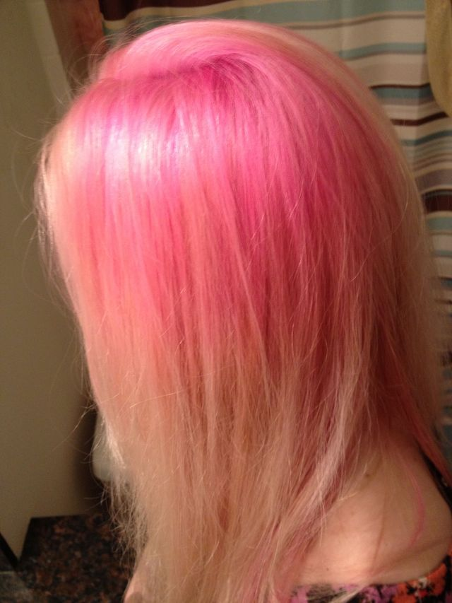 pink roots