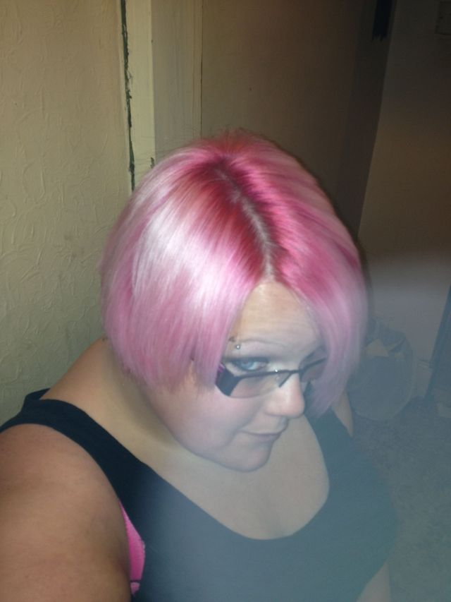 pink that went wrong