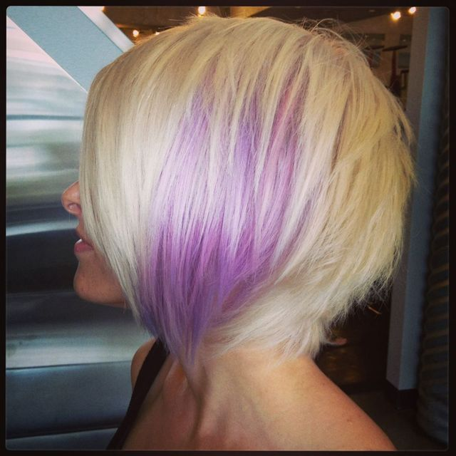 pink/purple/platinum my little pony hair