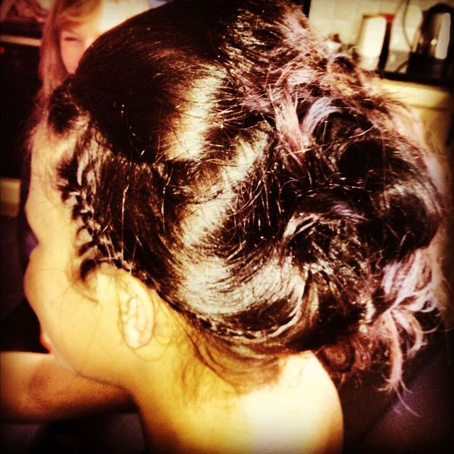 plait beehive updo