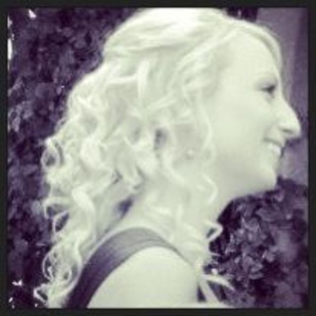 platinum blonde spiral curls!