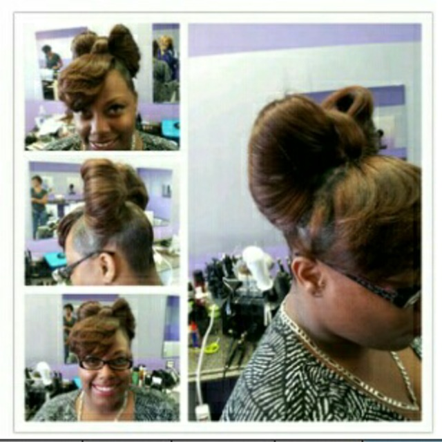 ponytail weave
