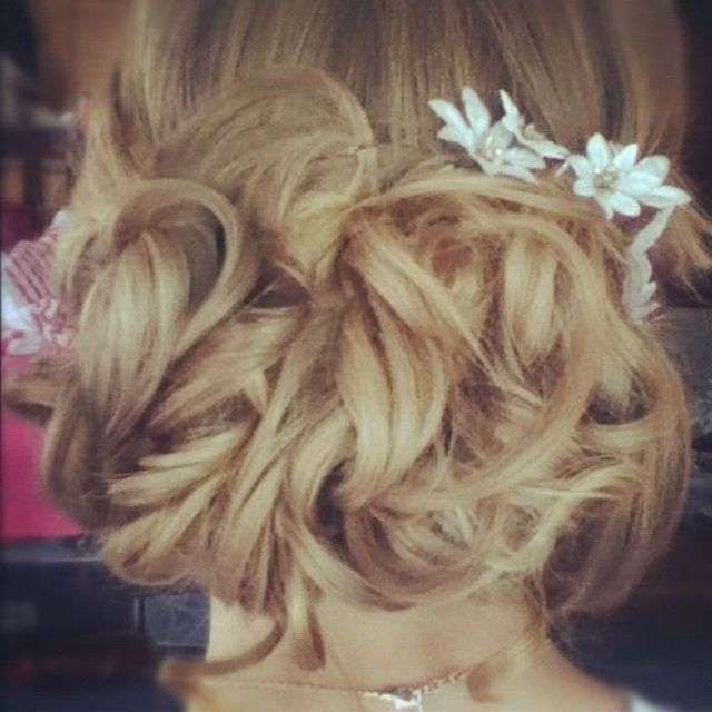prom style hair