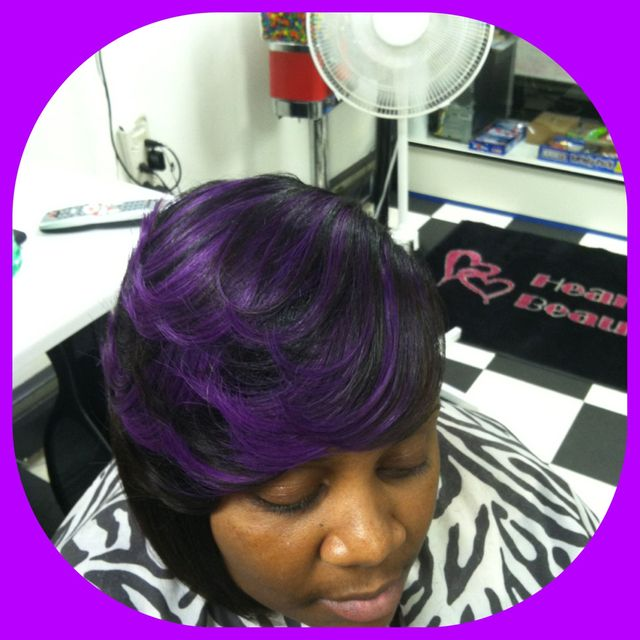 purple layers
