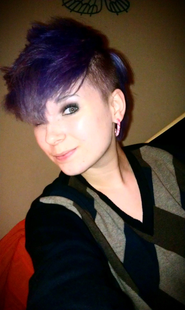 purple mohawk
