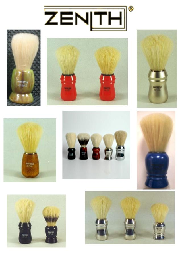Zenith Shave Brushes