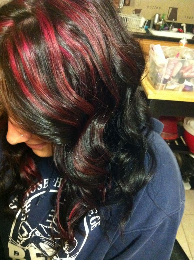 raspberry highlights