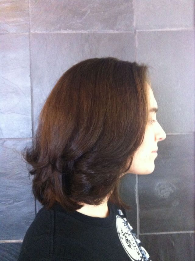 red brown with dark brown tips