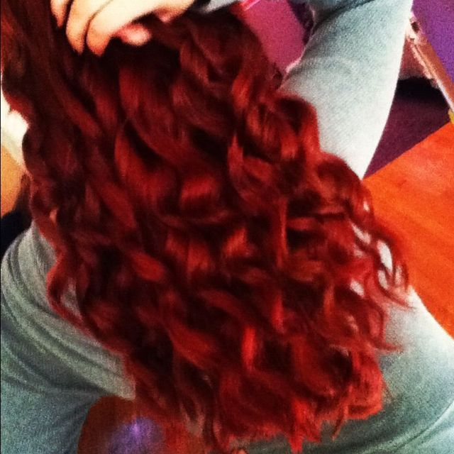 red hair /curls