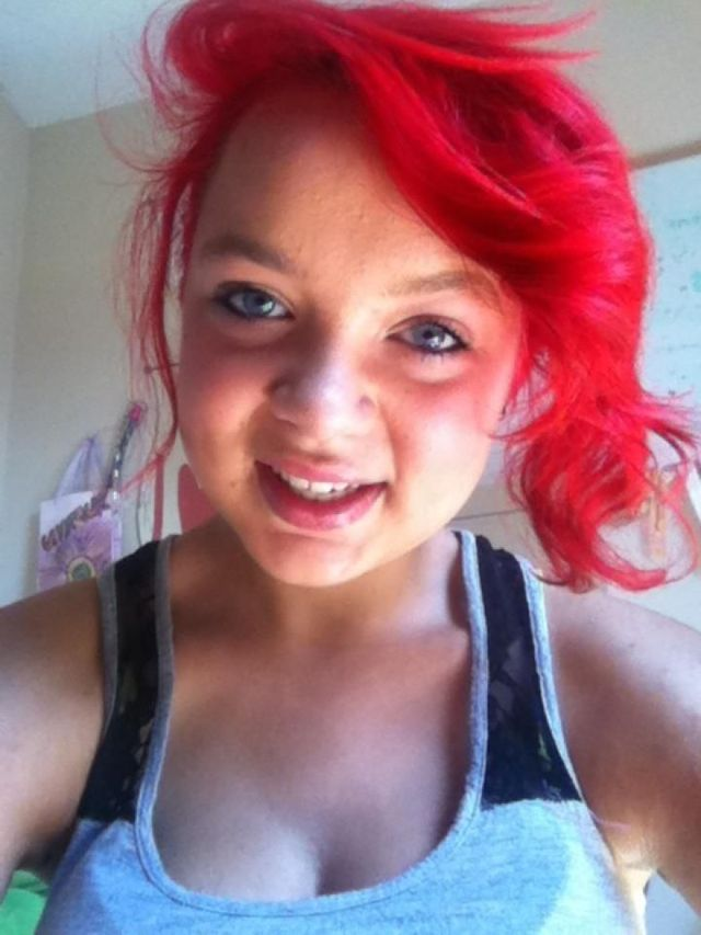 red hair!