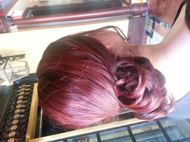 red up do