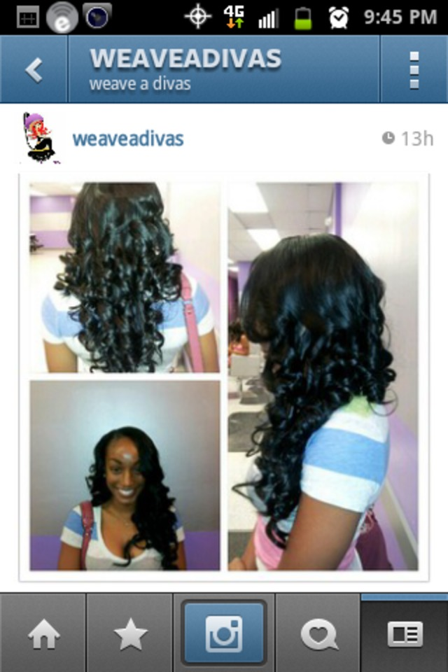 sewin weave extension