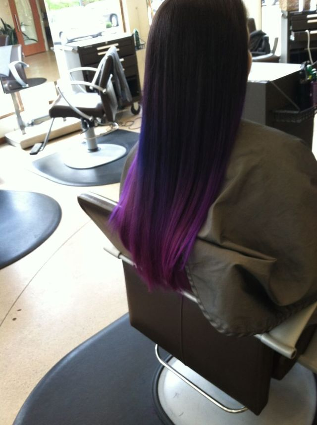shades of purple ombre